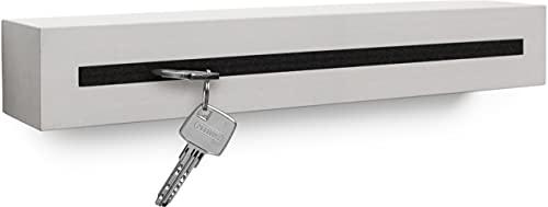 Buchenbusch urban design Schlüsselbrett mit Ablage aus Beton Light Edition 33x6x5 cm,...