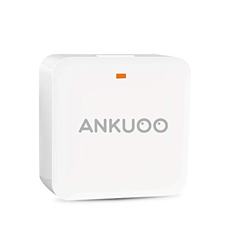 Ankuoo REC Gateway, Control Your Traditional RF (433 MHz) Plugs by app on Your Phone, Turn Them into Smart Wi-Fi Plugs, White