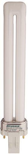 Sylvania 21135 Compact Fluorescent 2 Pin Single Tube 5000K, 13-watt