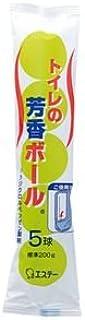 (まとめ) エステー 消臭?芳香剤 トイレの芳香ボール 40g/個 1パック(5個) 【×20セット】