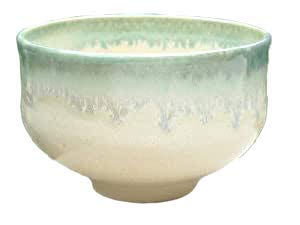 Affordable Shiroen Oribe tea bowl