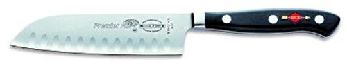Dick Santoku, Küchenmesser, Premier Plus Eurasia (Messer mit Klinge 14 cm, X50CrMoV15 Stahl, nichtrostend, 56° HRC) 81442142K