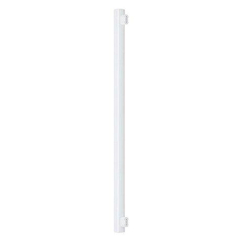 Bombilla de tubo LED 16 W=120 W 1000 lm luz blanca cálida 2700 K S14s 2 casquillo 100 cm
