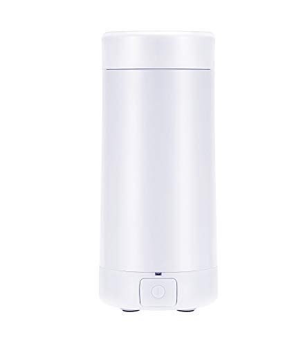 Portable Travel Electric Kettle Mini Thermos Fast Boil Teapot Heating Cup Stainless Steel Metal Bottle