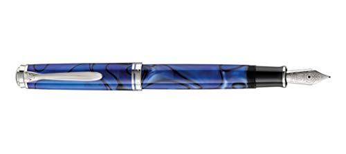 Pelikan Special Edition Kolbenfüllhalter Souverän M805 Blue dunes, Feder F