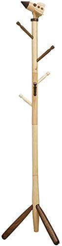 Planken Kinderen Kapstok, slaapkamer Staande kapstok Modern Multifunctionele Garderobestaander hoogte verstelbaar Eenvoudige montage koffie kleur A 157x41cm, Maat: 160x41cm, Kleur: koffie kleur