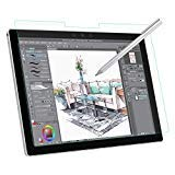 MoKo Compatible with Microsoft Surface Pro 7/Pro 6/Pro 5/Pro 4/Pro LTE Tablet Like Paper Screen Protector, [Anti-scratch] Anti-Glare Feature Makes Writing Same Like on Paper PET Film - Clear