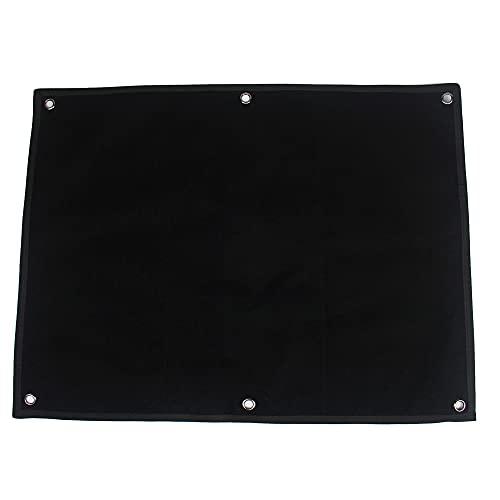 Airsoft Patch - Colgador para Esterilla de Velcro, Color Negro