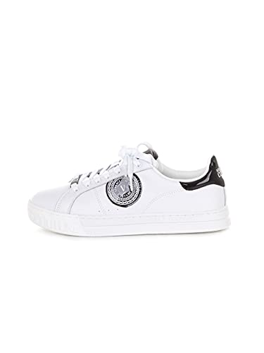 VERSACE JEANS COUTURE 71YA3SK1 ZP026 Sneakers Basse Uomo Bianco 42