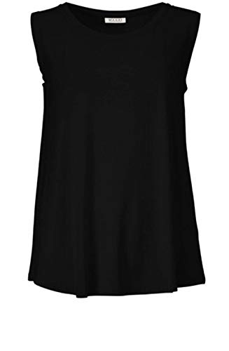 Masai Clothing Elisa Jersey Top Schwarz Gr. Small, Schwarz