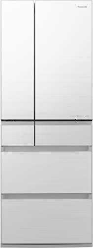 パナソニック 冷蔵庫 6ドア 600L パーシャル搭載 フロスティロイヤルホワイト フロスト加工 NR-F606WPX-W
