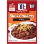 McCormick Slow Cookers Chili Seasoning, 1.5-Ounce Units (Pack of 12)