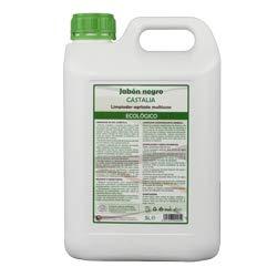 Castalia - Jabón Negro Ecológico (Jabón Potásico) - Formáto 5 litros - Potencia la acción de Productos fitosanitarios Frente a plagas como pulgón, Mosca Blanca, araña roja o Trips.