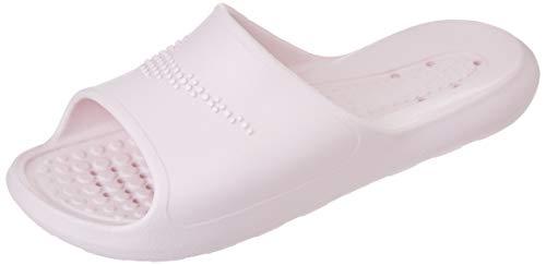 Nike W VICTORI One SHWER Slide, Zapatillas Deportivas Mujer, Barely Rose White Barely Rose, 39 EU