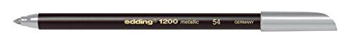 Edding 1200 metallic Stift silber