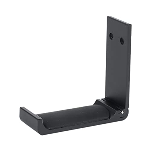 IPOTCH Universal aleación de Aluminio Auriculares Ganchos Soporte Plegable Controlador Soporte Colgador - Black B