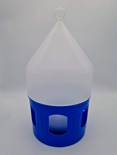 KKS Taubentränke 3,5L Tränke mit Tragering und Bajonettverschluss Kunststoff Tauben Brieftauben