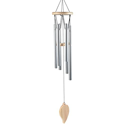 Aurofyx Windspiele für draußen, 31 Zoll nostalgische friedliche Gedenkwindspiel Windspiel mit DIY-Anhängern Windspiele für draußen Garten Patio Dekor