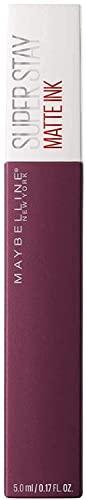 Maybelline New York, SuperStay Matte Ink, Pintalabios Mate de Larga Duración, Tono 40 - Believer, Púrpura