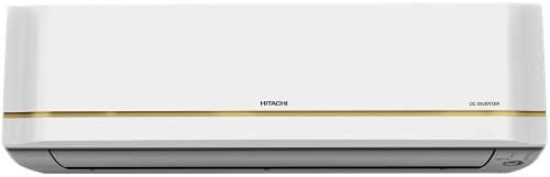 Hitachi 1.5 Ton 5 Star Inverter Split AC (Copper, Dust Filter, 2021 Model, RSRG518HEEA, White)