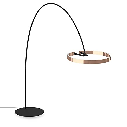 Lámpara de Mesita de Noche Lámpara de pie para sala de estar. DIRIGIÓ Lámpara de pie con la lámpara redonda de la lámpara del piso de la lámpara del piso del arco de la lámpara de tarea del polo del m