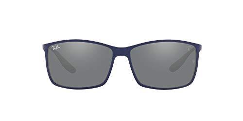 Ray-Ban 0RB4179M Gafas, MATTE BLUE, 60 Unisex Adulto