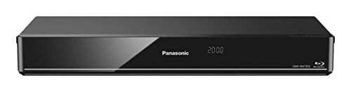 Panasonic DMR-BWT850EC - Grabador y Reproductor de BLU-Ray (Full HD, 3D, Escaldo 4K, Wi-Fi Incorporado, Disco Duro de 1 TB, Graba Tus Programas Favoritos, TV Anywhere, Grabación Remota) Negro