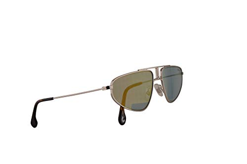 Carrera 1021/S Sonnenbrillen Palladium Mit Blau Golden Gläsern 58mm 0102Y CA1021/S 1021S