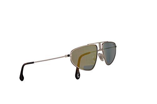 Carrera 1021/S - Gafas de sol de paladio con lente azul dorado 58 mm 0102Y CA1021/S 1021S