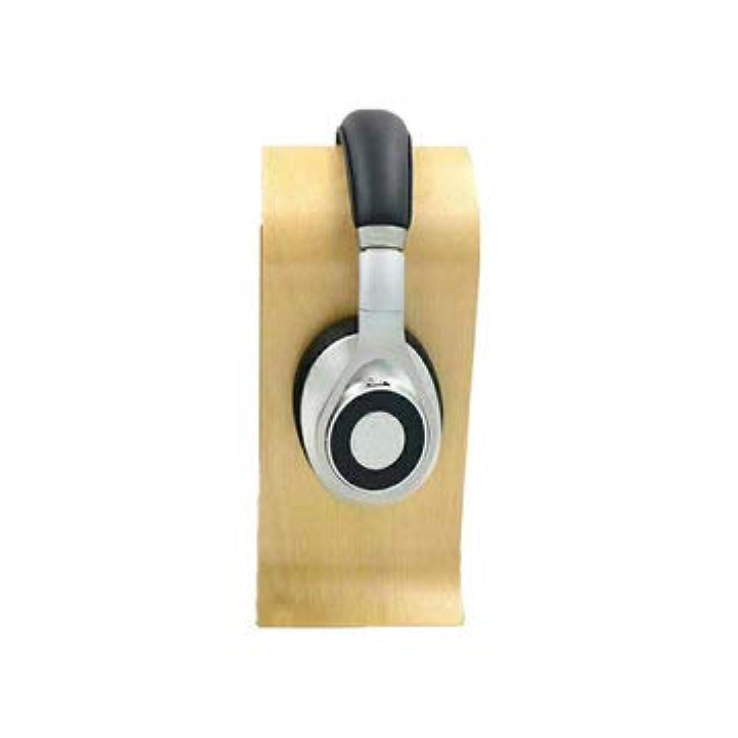 SumoTik Omega Shape Wood Headphone Holder Earphone Stand Hanger Bracket Desk Display Shelf Rack - Earphones & Speakers Headphones - (Wood) 1 X Headphone Holder