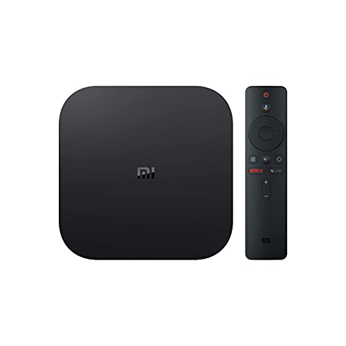 Xiaomi MI TV Box S - Reproductor Streaming en 4K Ultra HD, Bluetooth, Wi-Fi, Negro