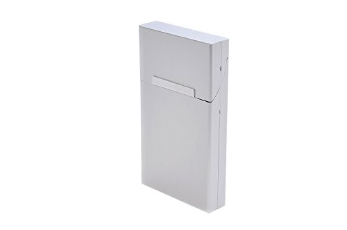 Quantum Abacus Etui aus Aluminium, für Zigarettenschachteln der Typen Slim und Superslim (100mm), BZW. 7-9 Normale/Kingsize-Zigaretten, Mod. 533-02 (DE)