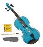 Best Grace Full Size Violins - GRACE GV40BL 3/4 Full Size Solid Wood H Review