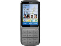 Nokia C3-01 Touch and type, Handy, warm grey ohne Simlock, ohne Branding, ohne Vertrag