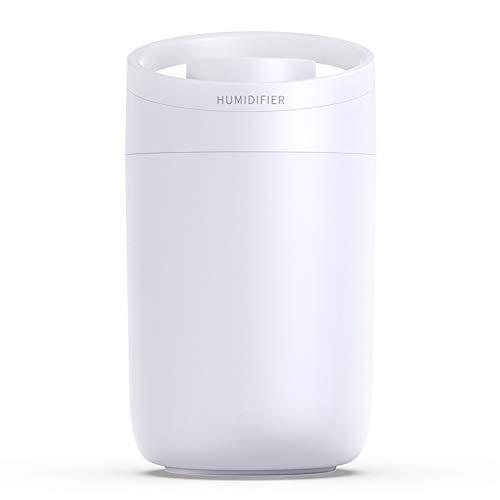 DERSHARA Humidificador, Unidad de humidificación de Primera Calidad con Tanque de Agua de 3L, Funcionamiento ultrasónico silencioso, Apagado automático