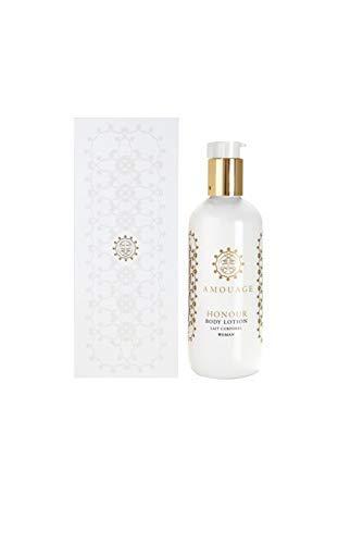 AMOUAGE Honour Body Lotion Woman 300ml + 3 Amouage Perfume Sampler Vials - Free