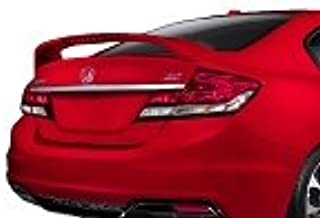 Accent Spoilers- Spoiler for a Honda Civic SI 4dr Factory Style Spoiler-Taffeta White Paint Code: NH578