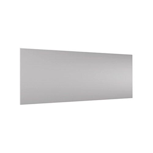 Bilderwelten Paraschizzi in Vetro - Agate Gray - Panoramico, Paraschizzi Cucina Pannello paraschizzi Cucina paraspruzzi per Piano Cottura Pannello per Parete Cucina, Misura (AxL): 40cm x 100cm