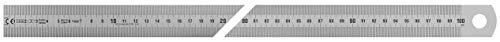 Vogel Germany 1018010100 1018010100-Regla (Tipo A, Longitud de medición 1000 mm, sección Transversal 30 mm x 1,0 mm, Acero Inoxidable, Lectura Izquierda a Derecha)