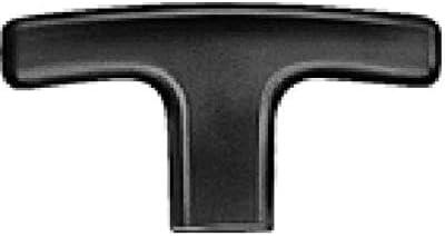 J.W. Winco 563-80-M10 Technopolymer T-Handle Tapped mm Diameter