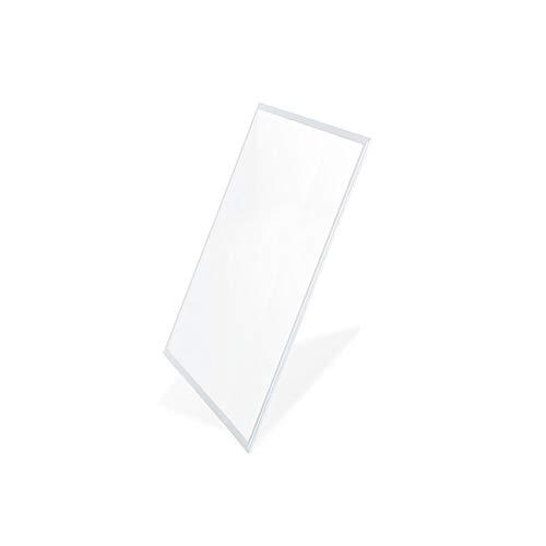 Leduni Panel LED 30x60 24W 120lm/W Marco Blanco lámpara de techo Mejor Precio (LUZ NEUTRO)