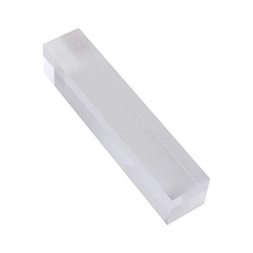 TOYANDONA - Vitrina de acrílico con Montura Transparente para Joyas, Expositor, Pendientes, Tachuelas, Expositor Organizador