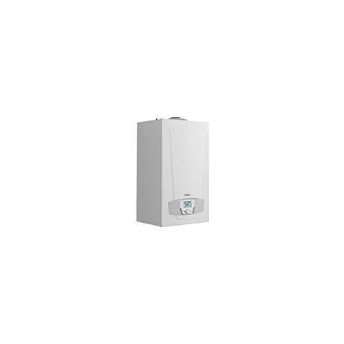 Baxi Caldera mural mixta instantánea, gas inverter 28/24 kW, combustión estanca de bajo consumo, serie Platinum Max Plus 28/28F GN condensación, 34 x 45 x 76 centímetros (Referencia: 14H279102)
