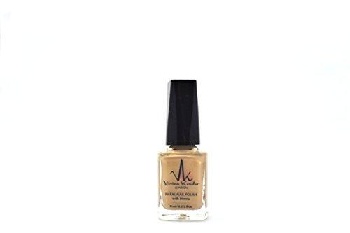 Vivien Kondor Henna Halal Permeable Nail Polish Ha12 Golden Beige 11 ml