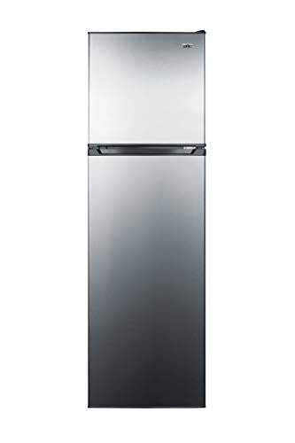 """Summit Appliance FF923PL Slim 22"""" Wide Frost-free Refrigerator-freezer, Frost-free Operation, Adjustable Glass Shelves, 8.9 cu.ft Capacity, Clear Crisper with Humidity Control, Adjustable Thermostat"""