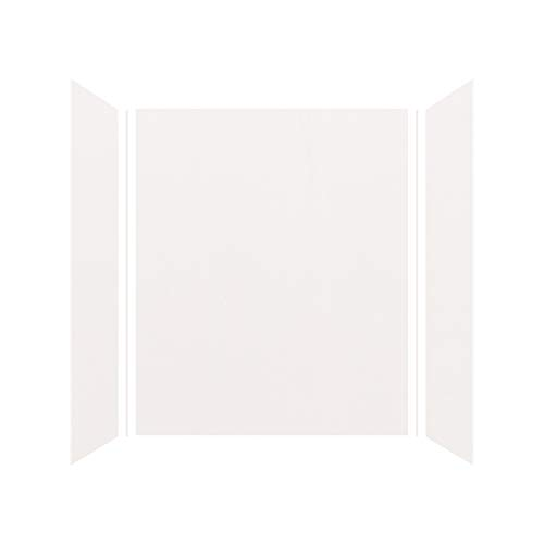 Transolid EWK603672-31 Expressions 3-Panel Shower Wall Kit, 36-in L x 60-in W x 72-in H, White