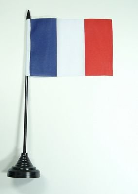 Fahne / Tischflagge Frankreich NEU 11 x 16 cm Flaggen [Misc.]