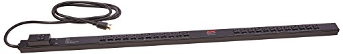 APC AP7532 Zero U Steckdosenleiste - Rack - einbaufähig Schwarz