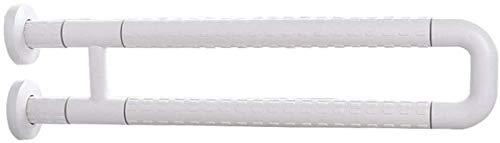 Badegriff Griff Haltegriff Barrierefreies Bad Geländer Sicherheit U Typ Geländer Striking WC Rails Balance Bar Ältere Behinderte Schwangere Frauen Hilfswerkzeuge ( Color : White , Size : 60cm )