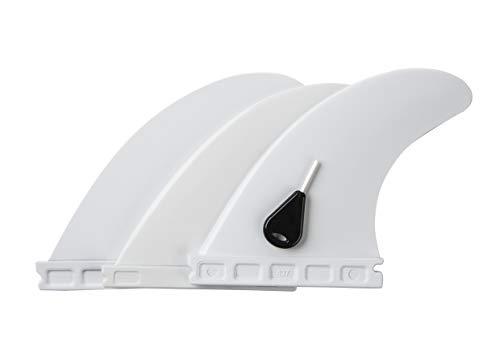 Liquida Finnen Future Fin System G5 - Surfboard (3 Unidades, tamaño Medio, Incluye Fin-Key, Colores: